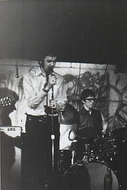 Influence, Toronto, September 1967: Andy  Keiller and Dave Wynne (photo courtesy of Andy Keiller)