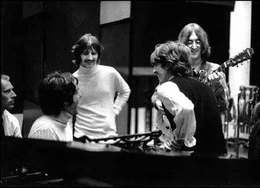 The Beatles at Abbey Road, 1968