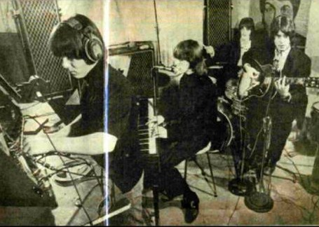 The Aerovons recording