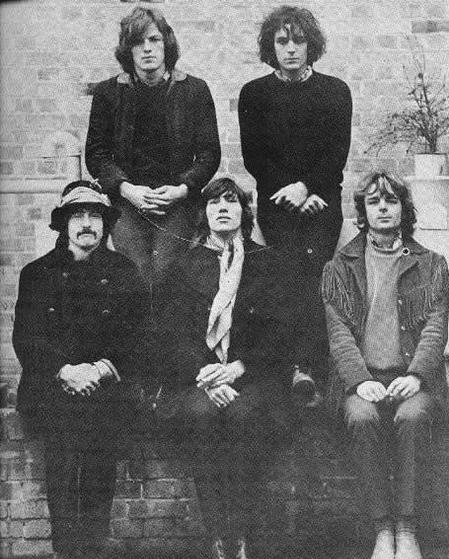 The classic Pink Floyd line up