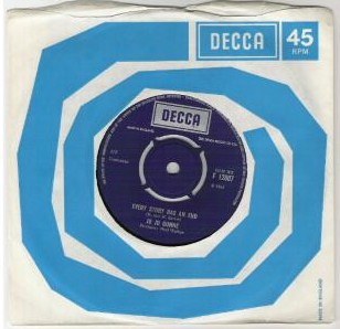 Jo Jo Gunne, Every Story Has An End, Decca Single, 1968