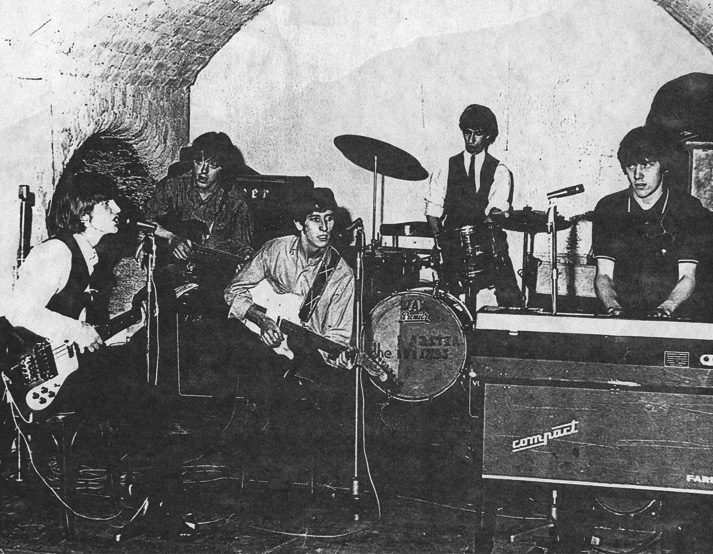 The Masterminds at the Cavern, cica 1965