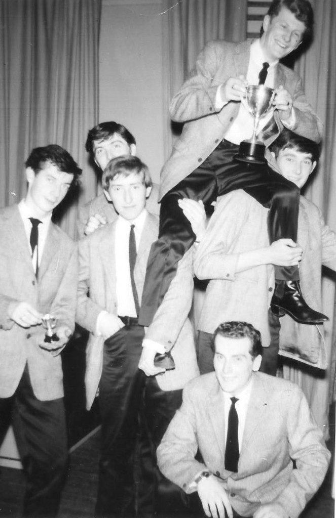 Colin Shane & The Shannons, late 1963