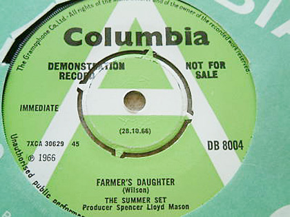 Farmer's Daughter, The Summer Set, Columbia Single