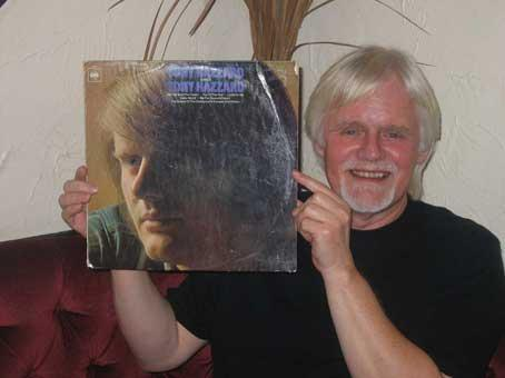 Tony Hazzard with his first solo album packed with hits