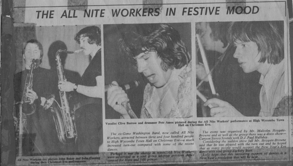 The All Nite Workers Wycombe late 1970