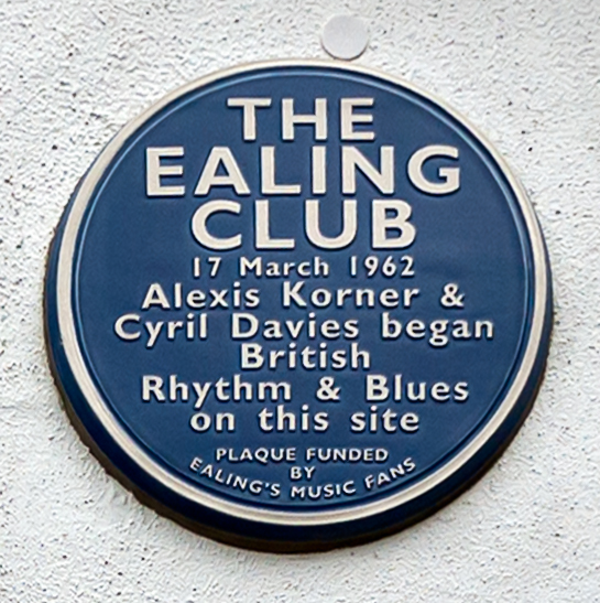 Ealing Club Blue Plaque