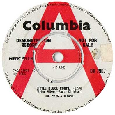 The Ways and Means - Little Deuce Coupe