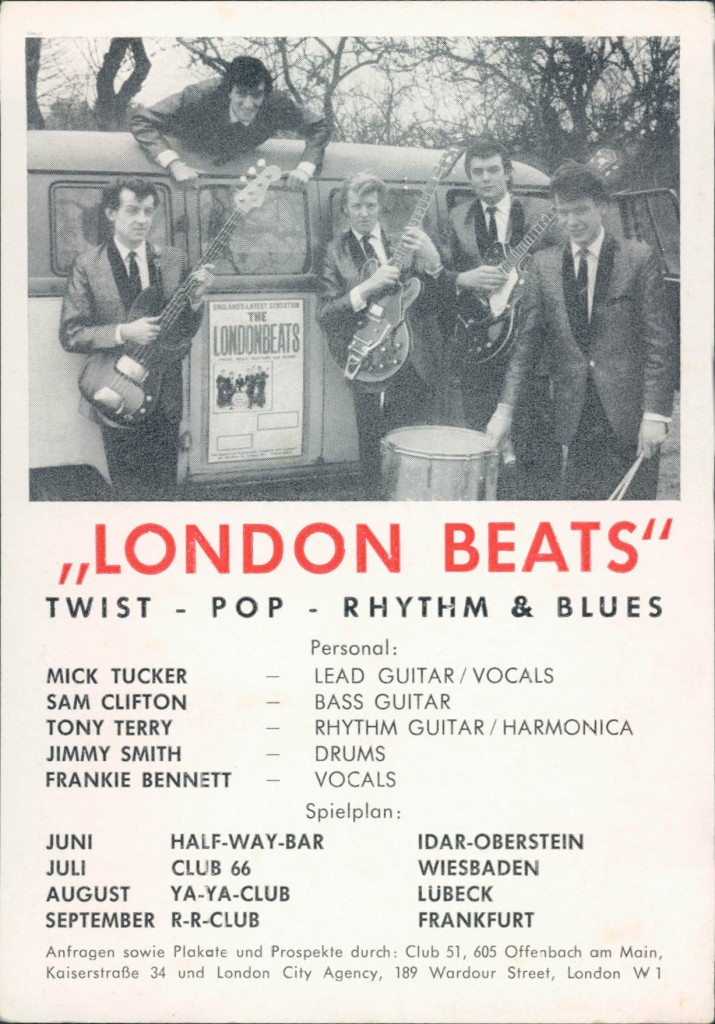 London Beats Germany poster