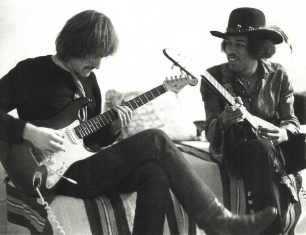 Dave Mason and Jimi Hendrix