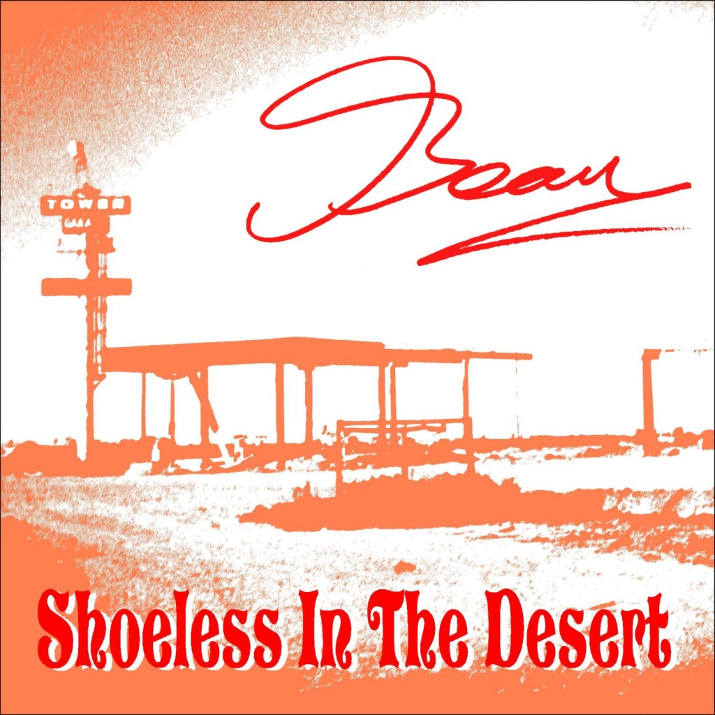 Shoeless In The Desert - cover