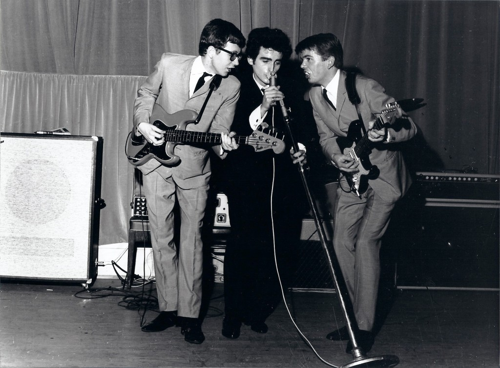 Brad, Dick, Ted - Th. de l'Etoile Nov 1962