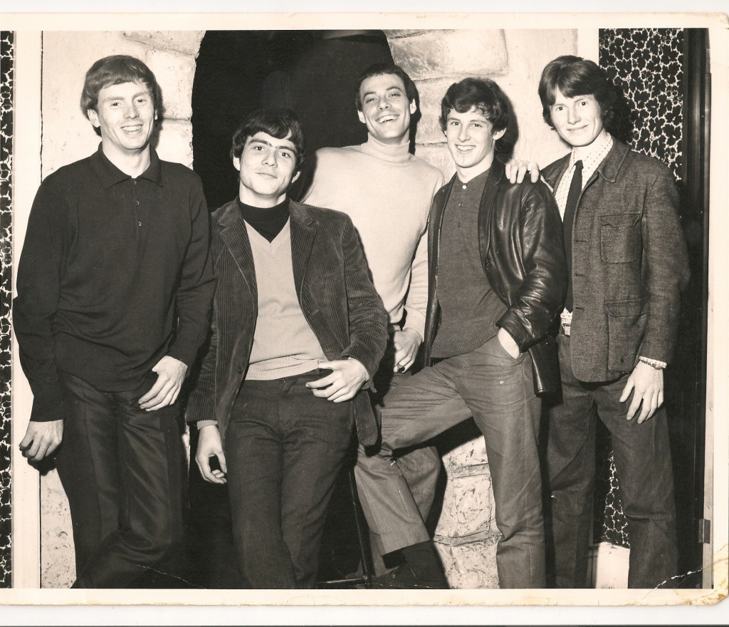Roy Davies, Rick Marshall, Alan Marshall, Peter Kirtley and Alan Whitehead