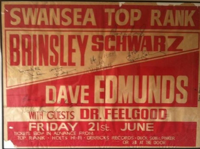 Swansea Top Rank poster