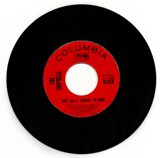The Duprees Record 1965