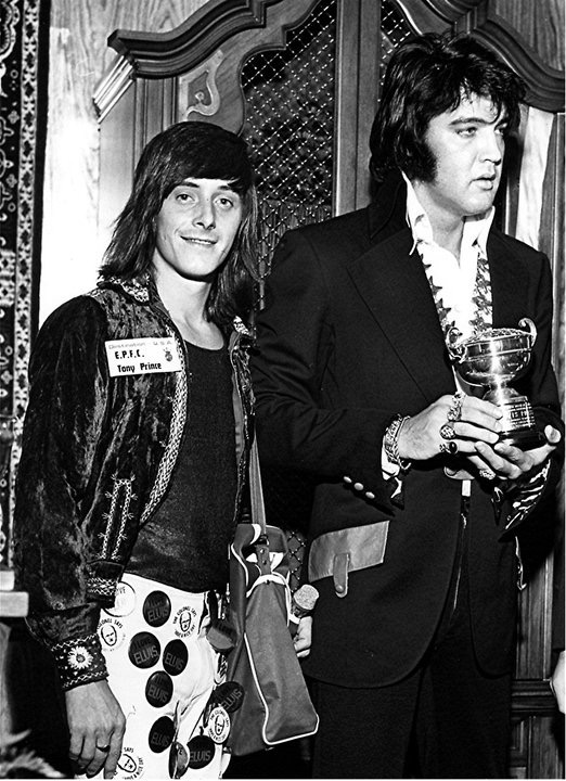 Tony Prince and Elvis